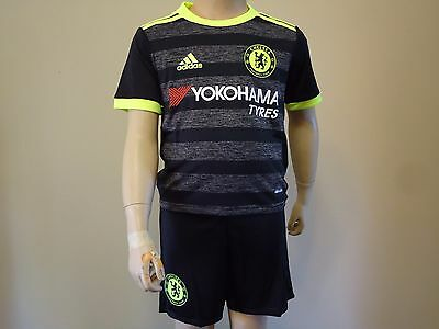 Chelsea Official Licensed Away Mini Kit 2016/2017 Kids 3-4 Yrs New