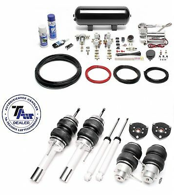 TA Technix Air suspension Airride with certificate for VW Scirocco