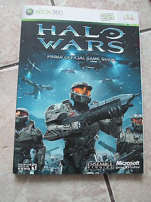 Prima Official Game Guide Halo Wars XBOX 360 Paperback Book