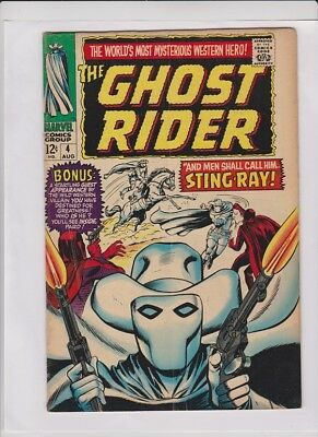 THE GHOST RIDER #4 VG & #5 VG+, Ayers & Coletta art, low cost, solid 2 issue lot