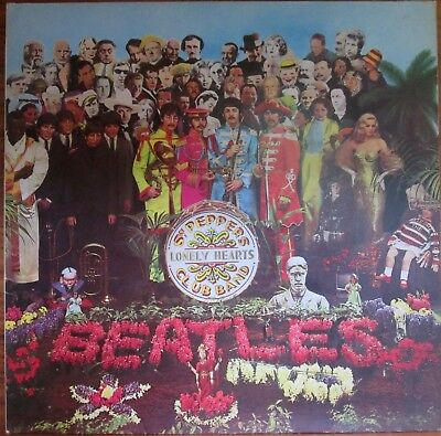 LP - BEATLES = SGT. PEPPER'S LONELY HEARTS CLUB BAND (EMI ODEON 1C 062-04 177n)