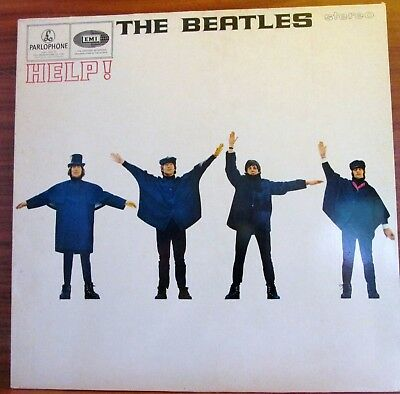 Lp - Beatles  = Help !   Made In Holland - Parlophone Records
