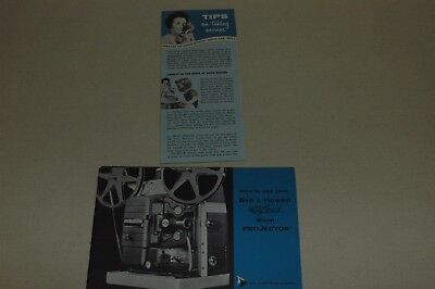 Bell & Howell Autoload 8 mm Projector Manual