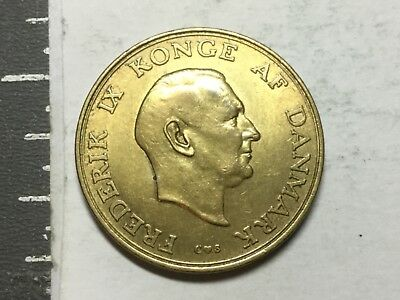 DENMARK 19561 Krone coin about uncirculated