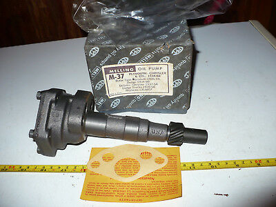 NOS M-37 Plymouth Chrysler Dodge Oil Pump 1934-60 Melling Replaces 1314607 USA