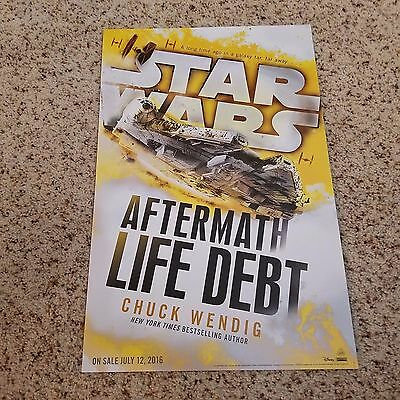 """New York Comic Con  2016 - NYCC 2016 Star Wars """"Aftermath"""" Poster"""