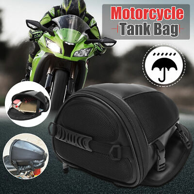 1pc Motorcycle Rear Back Seat Sports Waterproof Tail Tank Bag Luggage Saddlebag