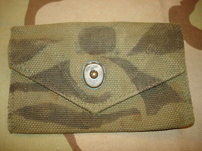 Wwii U.s. Camouflaged M1942 First Aid Pouch