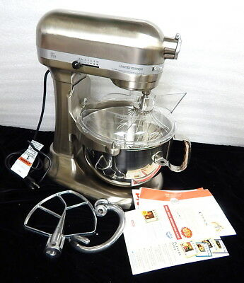 KitchenAid 6qt 5.7L Professional Commercial 620 Mixer Stainless New Open Box