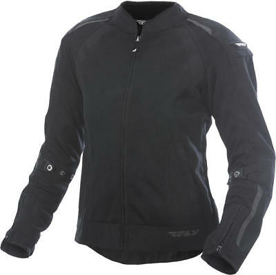 Fly Racing Womens Coolpro Jacket Black Large