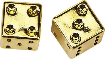 HardDrive Valve Stem Caps Gold Dice
