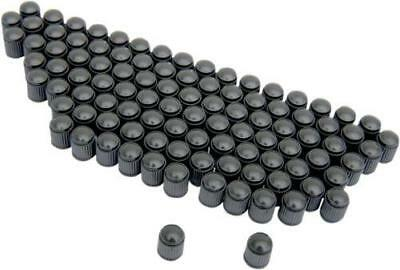 K&L Valve Stem Caps Black 100-Pack