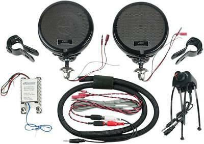 MH Rumble Road Ultra Amplified Stereo Speakers Black 1""
