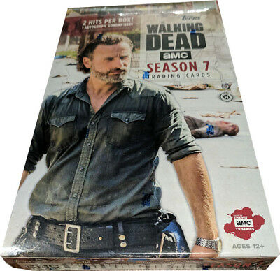 Walking Dead Season 7 Factory Sealed Trading Card Hobby Box
