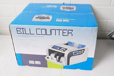 GR 2820 UV multi currency note bill counter