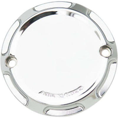 Arlen Ness Beveled 2-Hole Points Cover Chrome #03-480 Harley Davidson Sportster