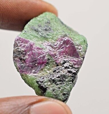 180 Ct Beautiful-Natural-100-Ruby-Zoisite-Gemstone-Rough-For-Sale  Beautiful