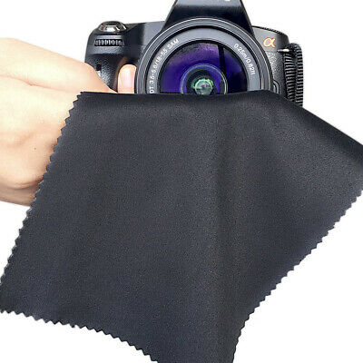 3-Pack Premium MicroFiber Cleaning Cloth For Phones EyeGlass Camera Lens Screen