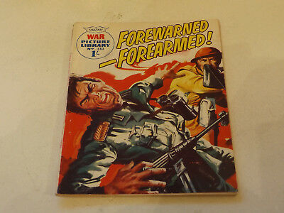 WAR PICTURE LIBRARY NO 483!,dated 1968!,GOOD for age,great 49!YEAR OLD issue.