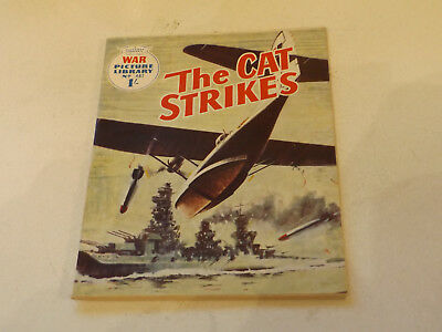 WAR PICTURE LIBRARY NO 487!,dated 1968!,V GOOD for age,great 49!YEAR OLD issue.