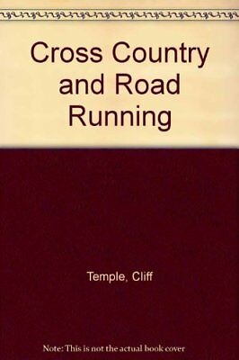 Cross Country and Road Running by Temple, Cliff Paperback Book The Cheap Fast