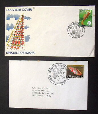 Papua New Guinea - 1970 Special Postmark , Odakyu Exhibition  - Covers