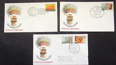 Papua New Guinea - 1974  Eastern  Highlands,orchid,morobe  Show Etc   - Covers
