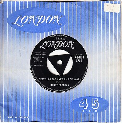 Bobby Freeman *betty Lou Got A New Pair Of Shoes/ Starlight* 1958 Tri Uk London