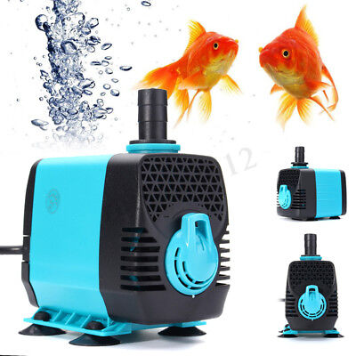 600-3000L/H Submersible Water Pump Fish Pond Aquarium Tank Fountain Ultra-Quiet