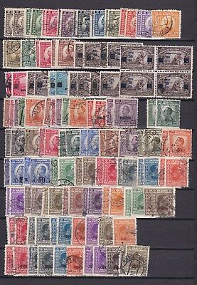 Yugoslavia - 1923/35 -   collection on page - used