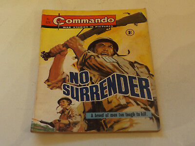 Commando War Comic Number 374!!,1968,v Good For Age,49 Years Old Issue,v Rare.