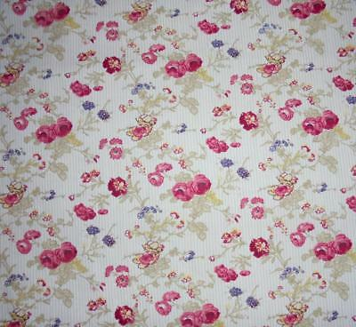 BEAUTIFUL VINTAGE FRENCH c1970s COTTON, SMALL SCALE DESIGN, PROJECTS, DOLLS, REF
