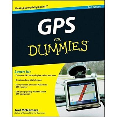 GPS for Dummies - Paperback NEW McNamara, Joel 2008-10-10