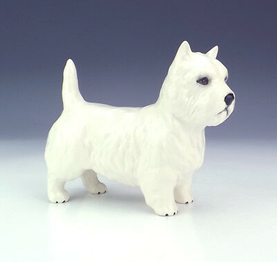Beswick Pottery - Hand Painted West Highland Terrier Dog Figure - Nice!