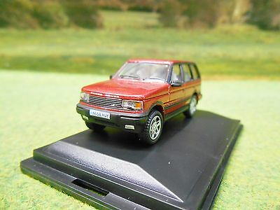 OXFORD 1990s RANGE ROVER P38 IN RIOJA RED 1/76 76P38001