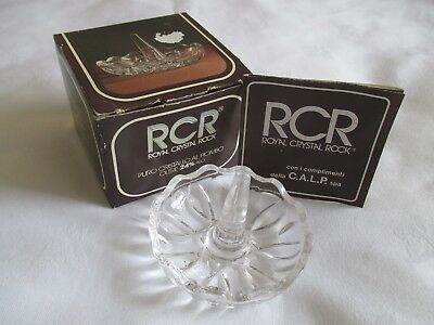 rock crystal ring holder boxed