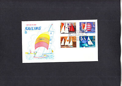 1975 Sailing Stuart FDC with Royal Thames Yacht Club London special handstamp