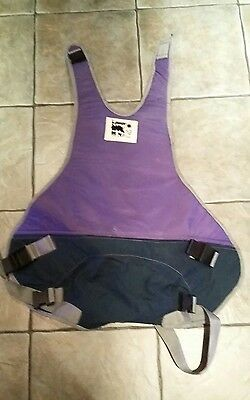 A Laser Style Old School Sit In Windsurfing Harness Seat & Bar Size Medium