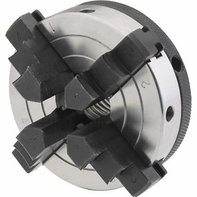 Shop Fox 3in 4 Jaw Chuck 1in x 8 TPI D4054 Power Tool Accessories