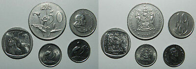 5 X South Africa Coins