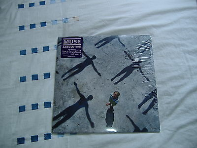 "Muse Absolution Double 12"" Vinyl Lp Very Good Condition & Sealed! 2003"
