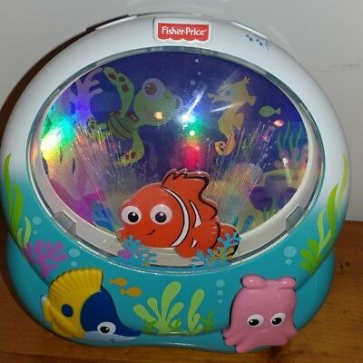 Fisher-Price Finding Nemo Soother Baby Crib Toy Music Lights