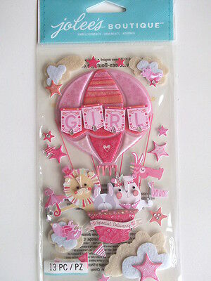 Jolee's Boutique Stickers - Baby Girl Special Delivery