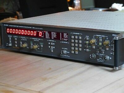 TOP: Philips PM6654 Programmable High Resolution Timer / Counter 1,5Ghz mit OCXO