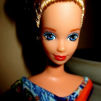 vintage  STEFFIE ...nude for ooak..golden blonde in bun ...beauty mark MINTY!!!!