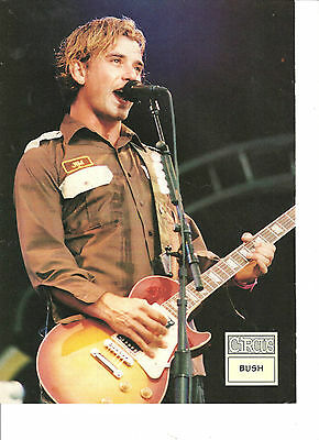 Bush, Gavin Rossdale, Full Page Pinup