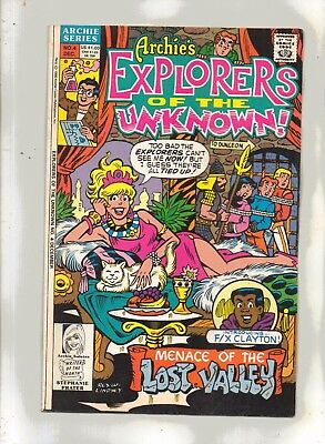 EXPLORERS OF THE  UNKNOWN No 4 with/ARCHIE, BETTY, VERONICA  and JUGHEAD