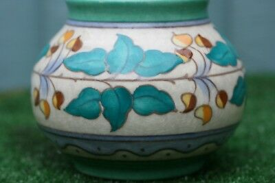 SUPERB ART DECO CHARLOTTE RHEAD BURSLEY WARE BOWL WITH TUBE LINED DECOR c1930s