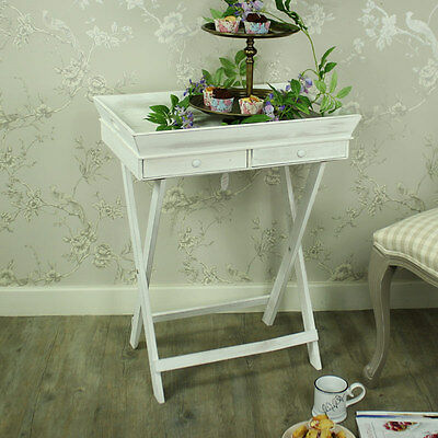 large white wooden butlers serving tray drawer storage kitchen dining
