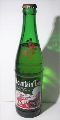 Mountain Dew Bottle Unopened Mike and Helen (Rare Red Hillbilly)
